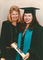 Image of Indigo aged 25 - graduation